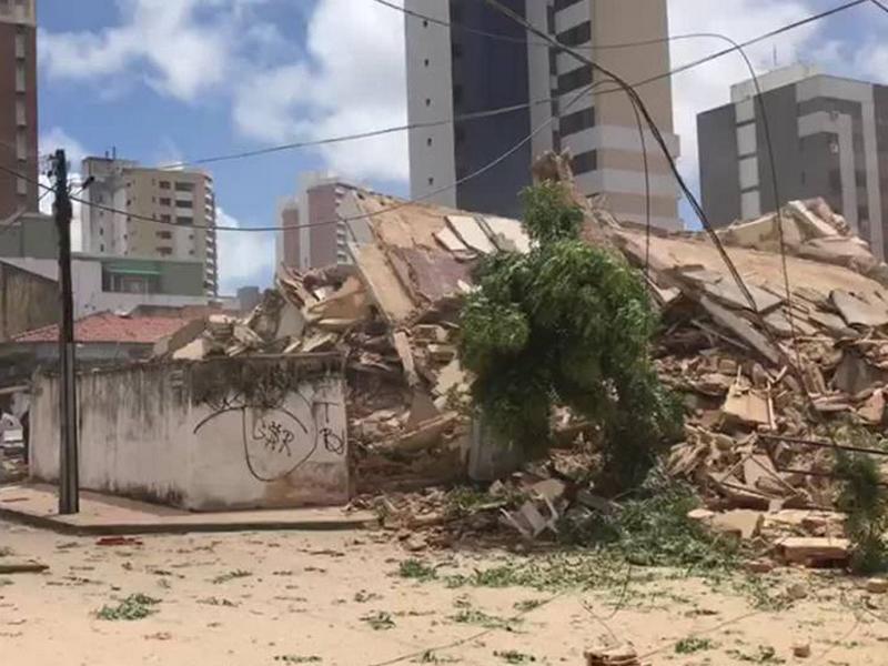 巴西有住宅樓宇倒塌至少1死9人失蹤。(網圖)