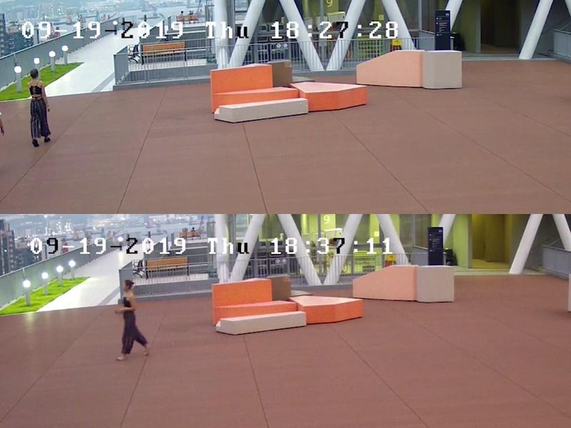 陳彥霖在6時37分的片段中發現赤脚。
