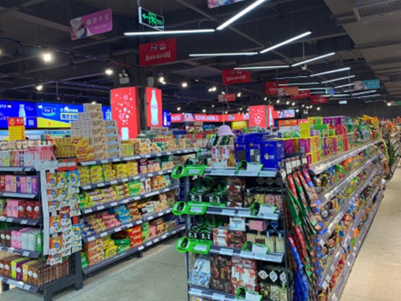 廣州一名女子因覺得商品變質,於是前往超市討公道,過程中將超市員工斬傷。 示意圖
