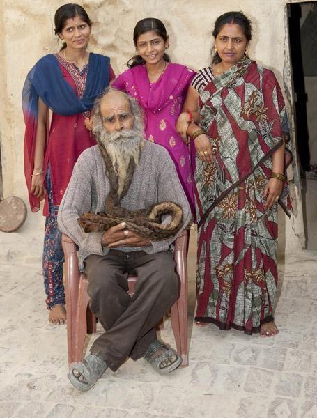 凱拉什育有七名女兒。網上圖片