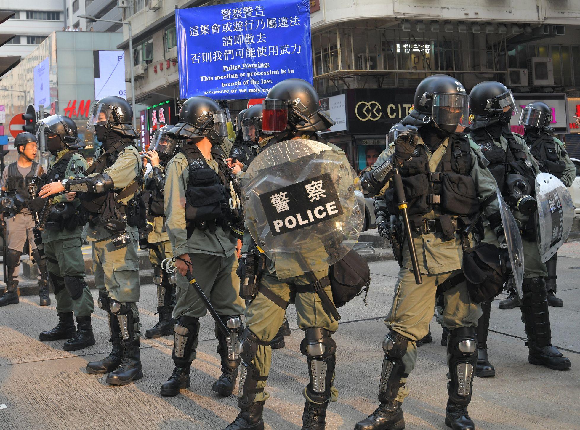 張建宗強調,警隊在人手不多下盡忠職守。資料圖片