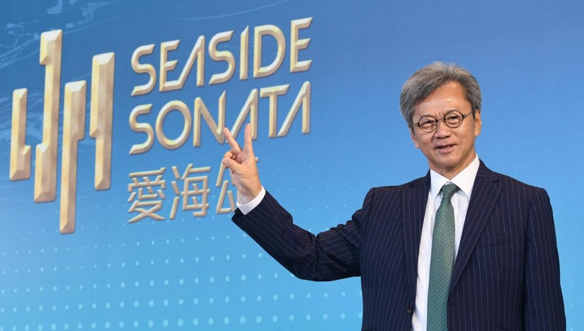 趙國雄指,愛海頌A組有21伙獲認購。