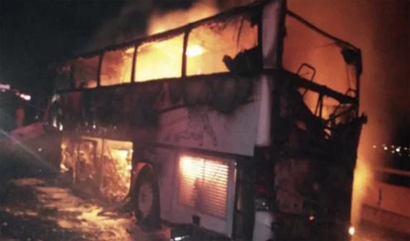 在沙特阿拉伯發生的交通事故中有35名乘客喪生。(網圖)
