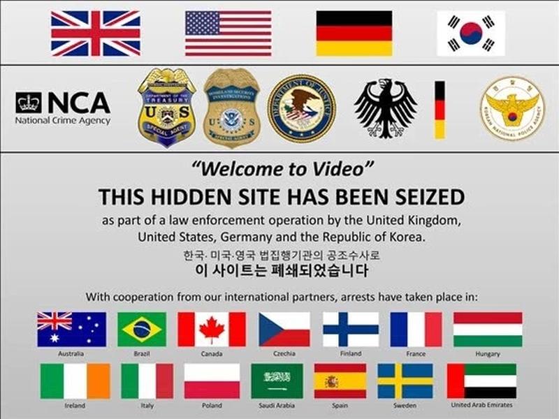 全球最大網絡兒童色情市場被搗破。(網圖)