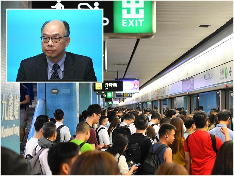 陳帆希望市民對港鐵有信心。