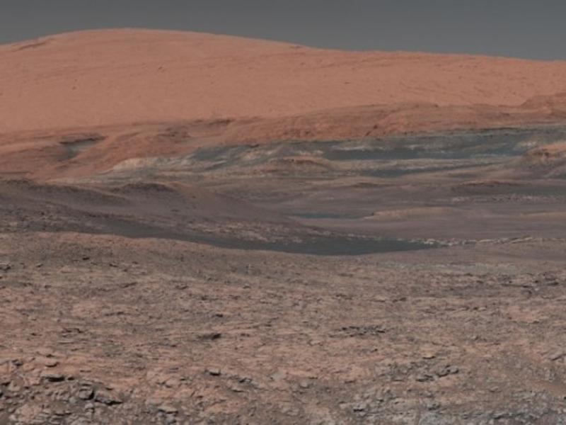 美國太空總署否認已發現火星存在生命的說法。(網圖)