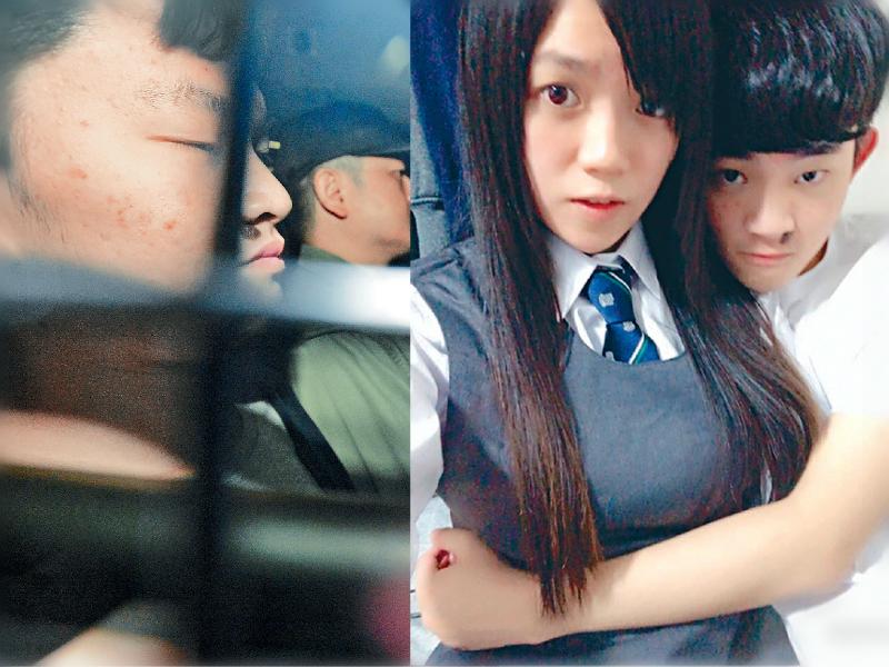 台灣殺人案疑犯陳同佳潛逃返港後被捕入獄。網上圖片