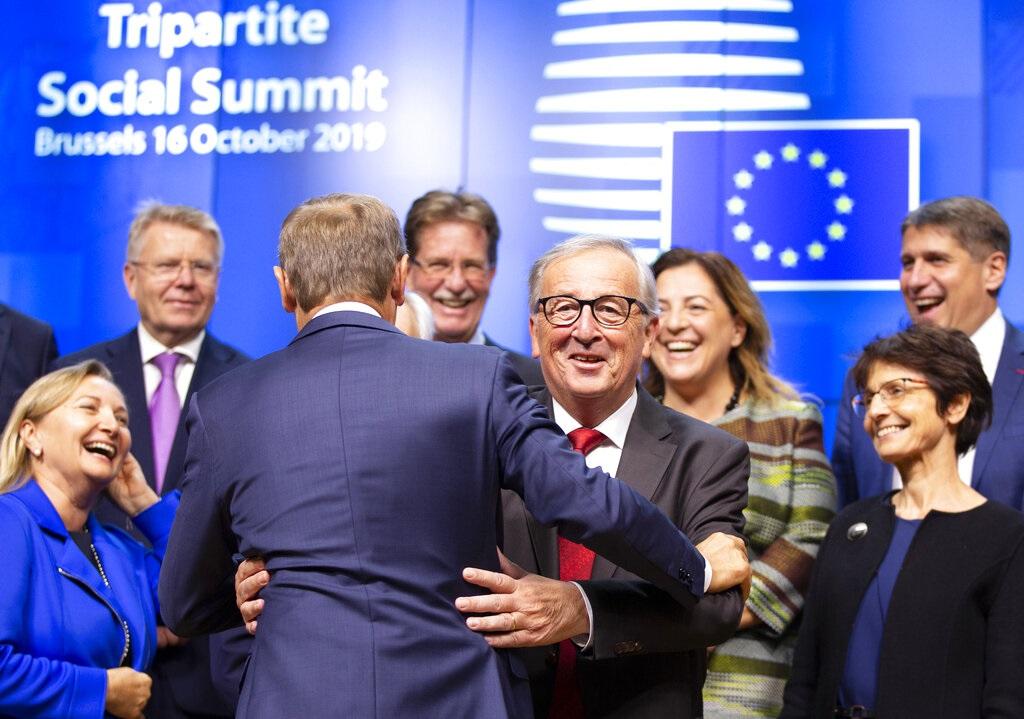 歐盟召開領導人峰會。AP圖片
