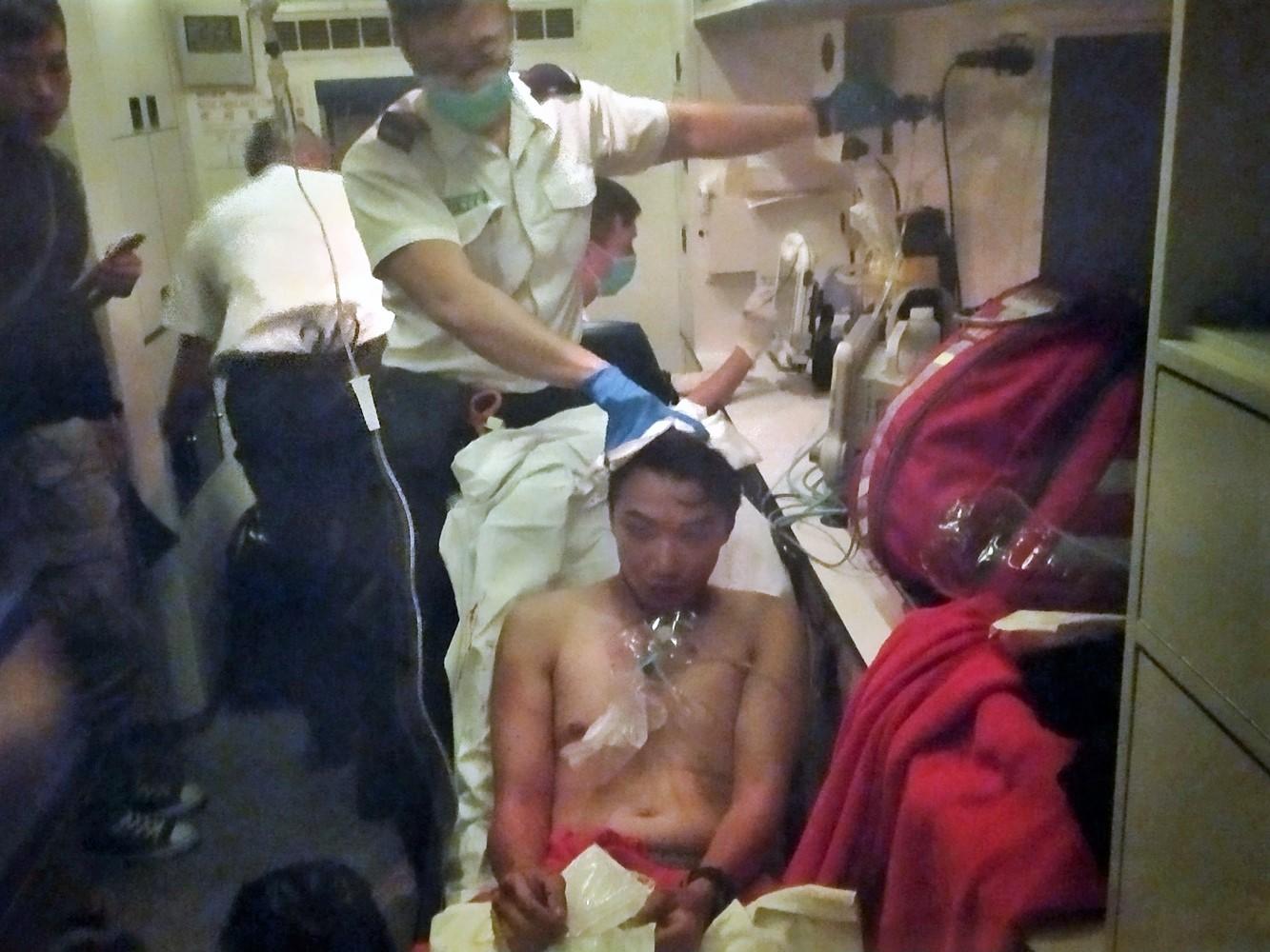 岑子杰遇襲受傷引起各界關注。網上圖片