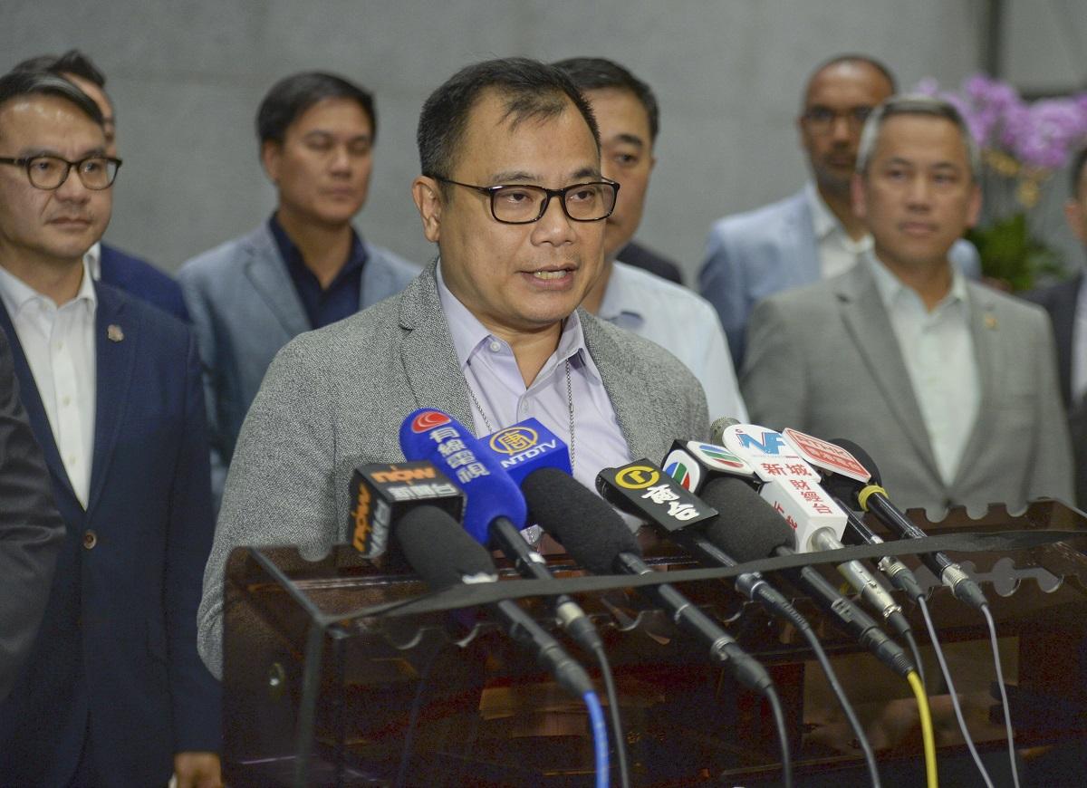 警察隊員佐級協會主席林志偉。資料圖片
