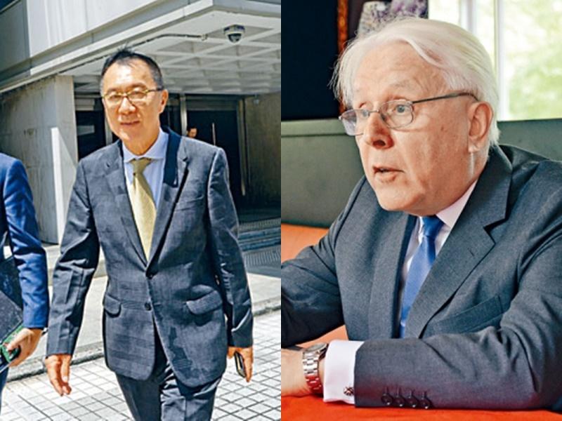 左:清洪、江樂士。資料圖片