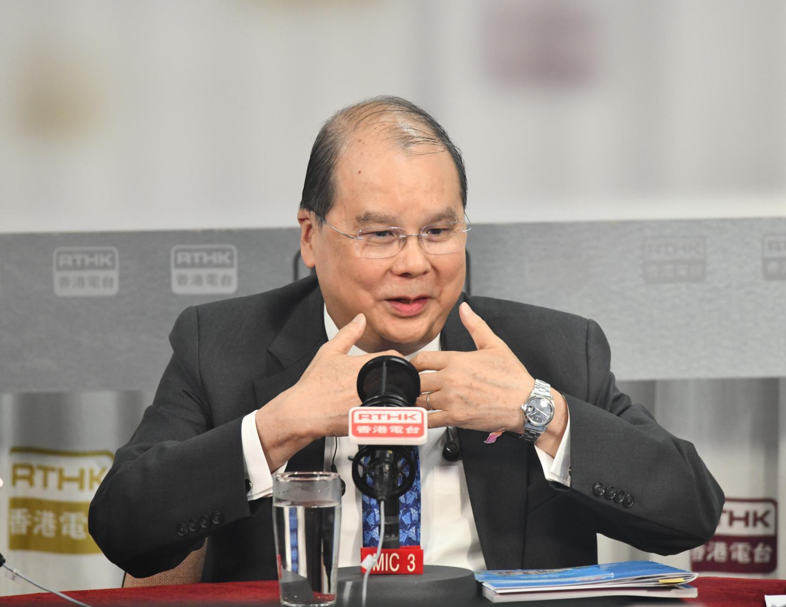 張建宗不希望推遲下月尾舉行的區議會選舉。