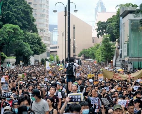 【修例風波】民陣發起周日九龍遊行 警發反對通知書