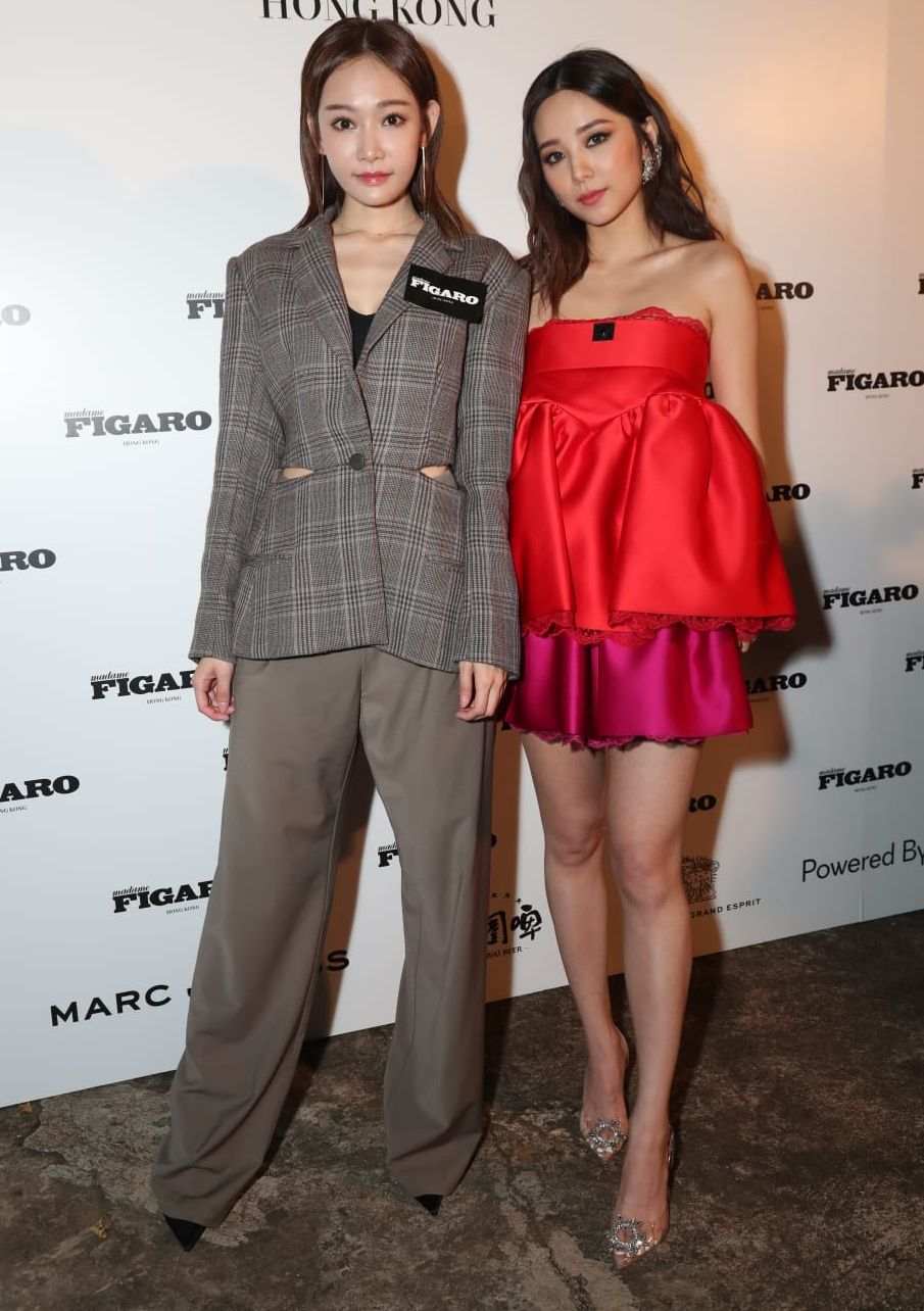 Aka與Heidi之前各自在韓國和日本。