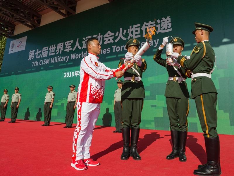 世界軍運會武漢開幕 第七屆規模歷來最大。官方網站