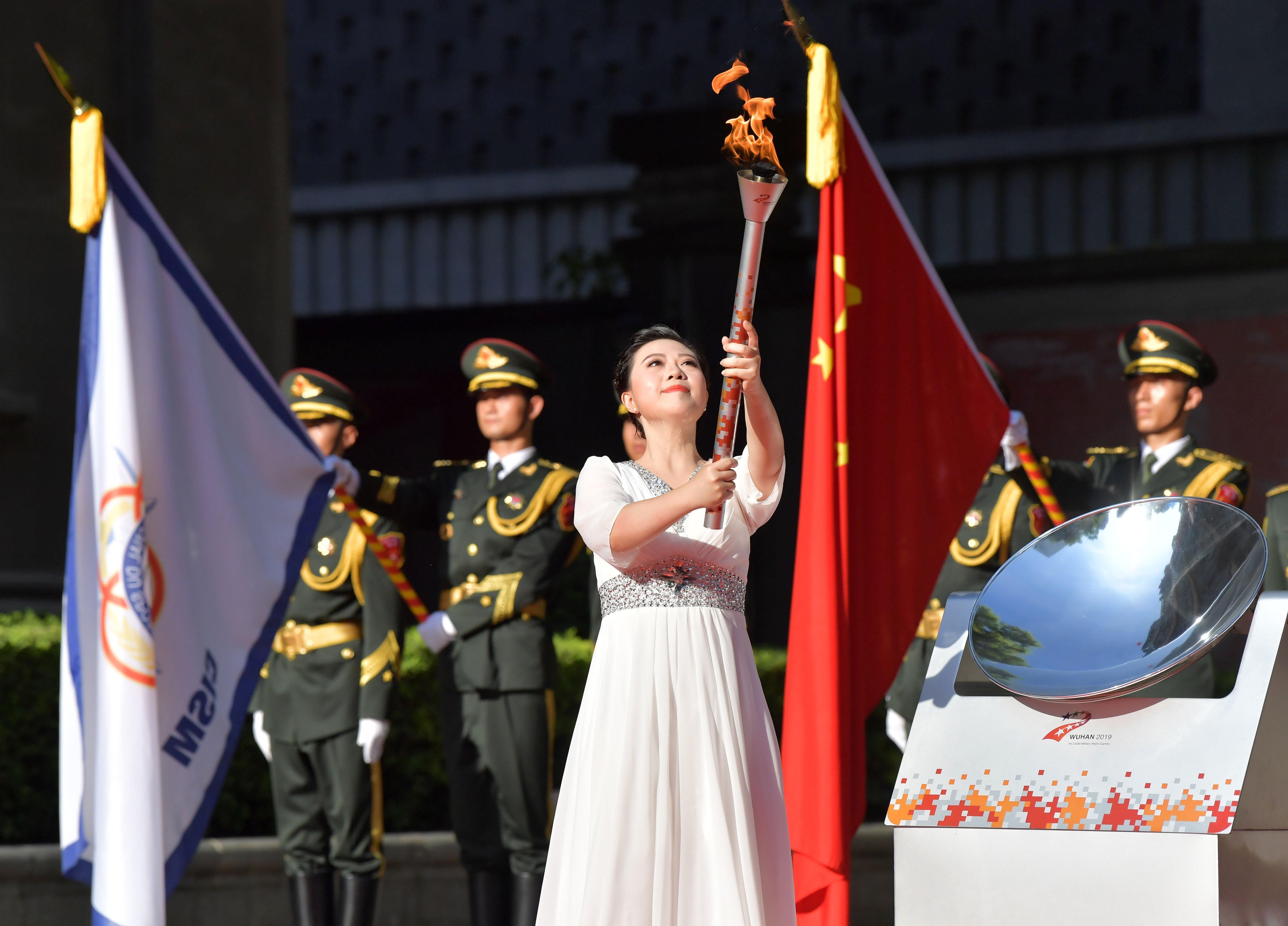 第七屆世界軍運會在武漢開幕。官方網站