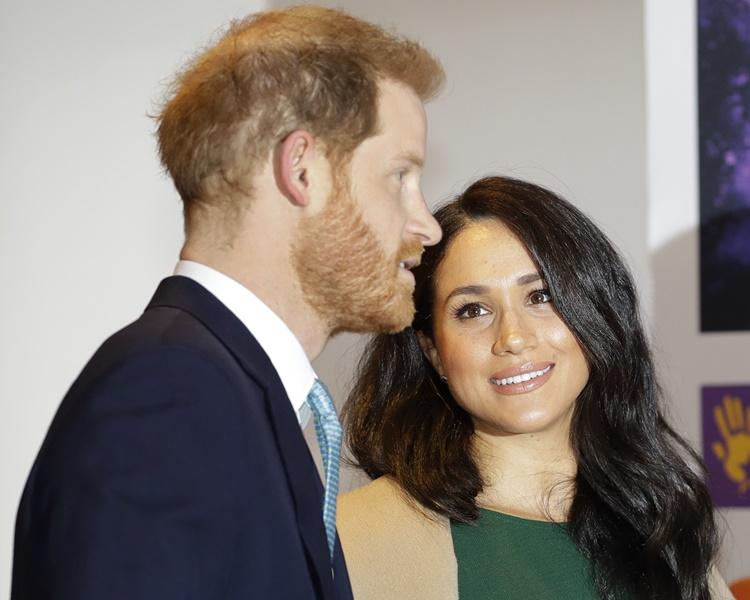 梅根9月剛隨同哈里王子帶同4個月大的阿奇往非洲訪問。AP