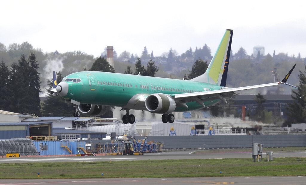 飛航專家表示,這宗事件曝光,可能進一步延遲737 MAX的復飛時間。 AP