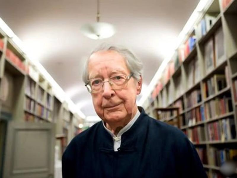 馬悅然在瑞典家中辭世,享年95歲。 網圖