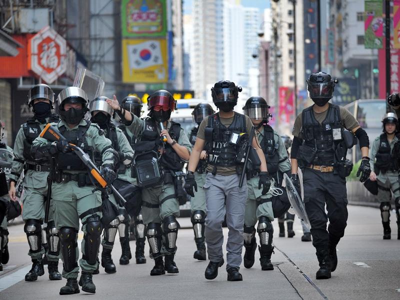 警方高度關注,將調派至少八千警力布防。資料圖片