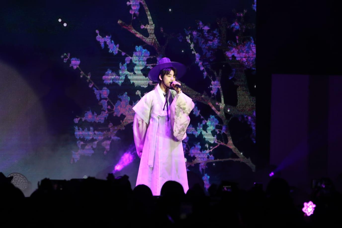 車銀優以新劇《新入史官丘海昤》中的傳統韓服造型。