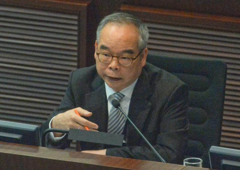 劉江華承認康文署借車予警方。資料圖片