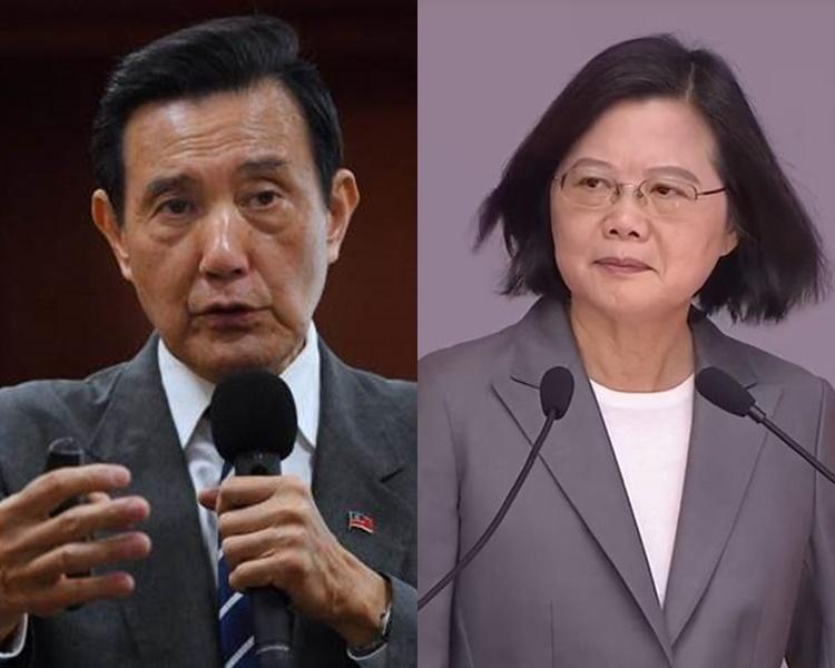 馬英九在社交網貼文批評蔡英文。