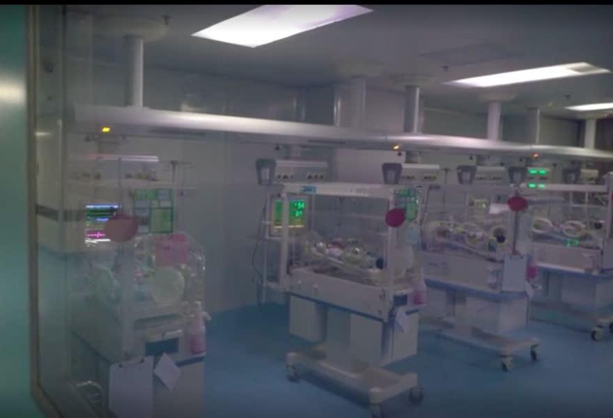 早產四胞胎還留院觀察。網圖