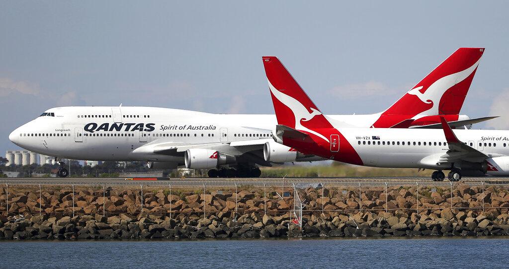 紐約飛悉尼逾19小時 ,澳航最長程航班完成試飛。AP