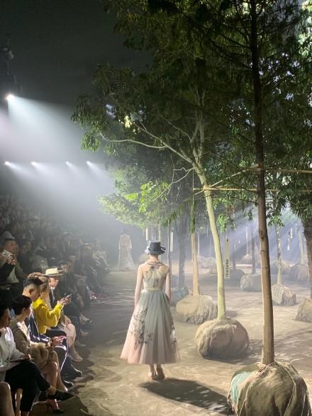Dior上海派對。網圖