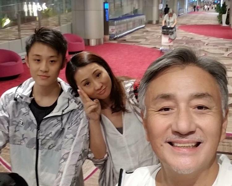 吳岱融兒子快將畢業,有興趣向幕後發展。