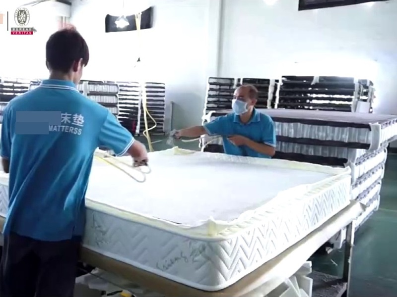 美最終裁定中國製床褥存傾銷,徵稅最高17倍。網圖