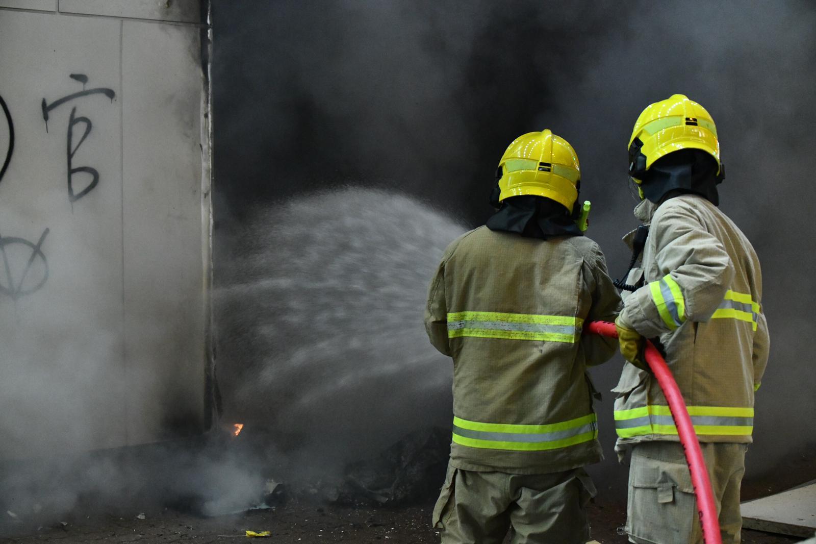消防將火救熄。