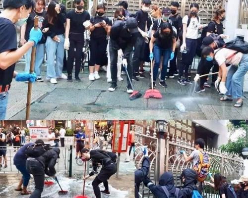 【修例風波】警稱水炮車意外射中清真寺 伊斯蘭協會團體:真主知道真相