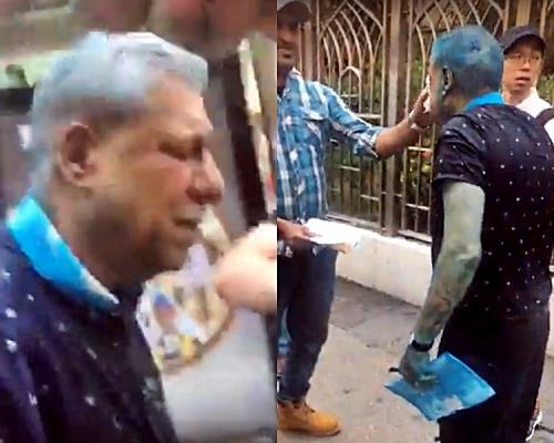 【修例風波】印度協會前主席被水炮車射中 拒接受林鄭道歉轟警方故意