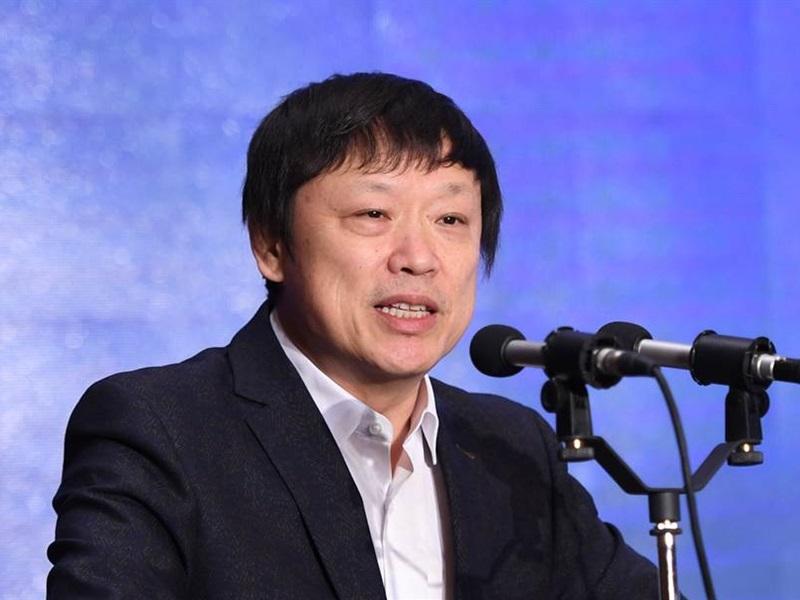 《環球時報》總編輯胡錫。網圖