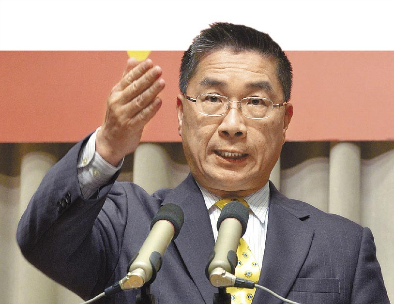 台灣內政部長徐國勇。