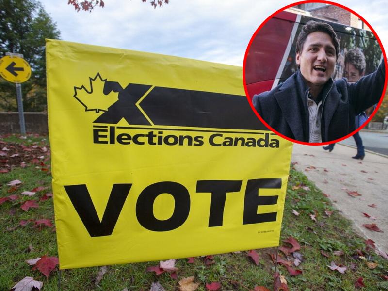 加拿大國會大選結束,由執政黨自由黨領先,預料杜魯道可能險勝,但將失去多數席次。AP