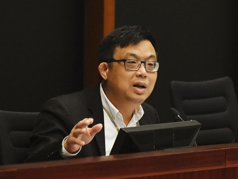 涂謹申呼籲香港政府提供證據給台灣。資料圖片