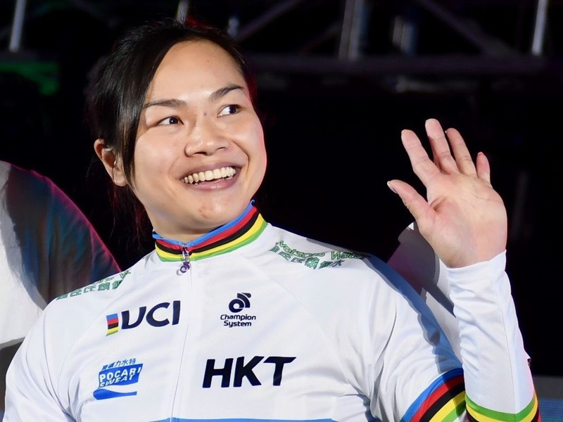 李慧詩代表香港奪兩面金牌。