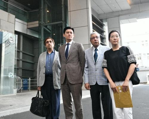 【修例風波】毛漢與譚文豪等到警總投訴濫用水炮車