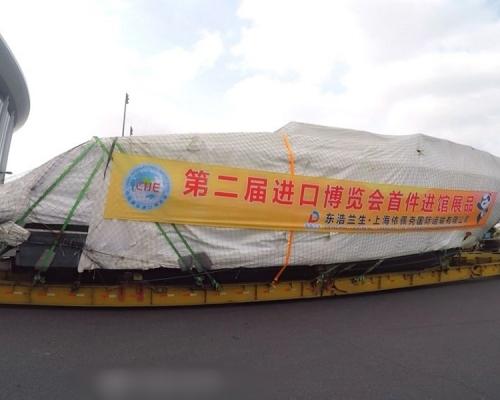 上海進博會64國參展 續設「港澳台」展區
