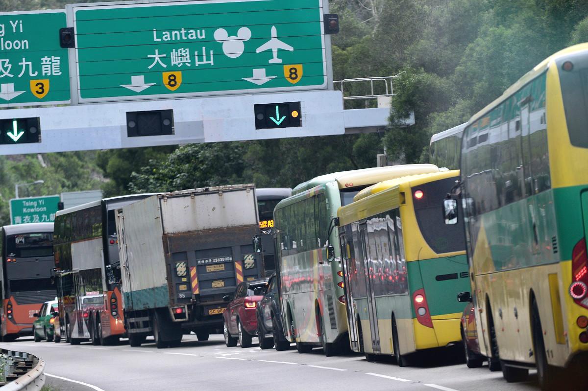 近月示威者多次堵塞交通。資料圖片