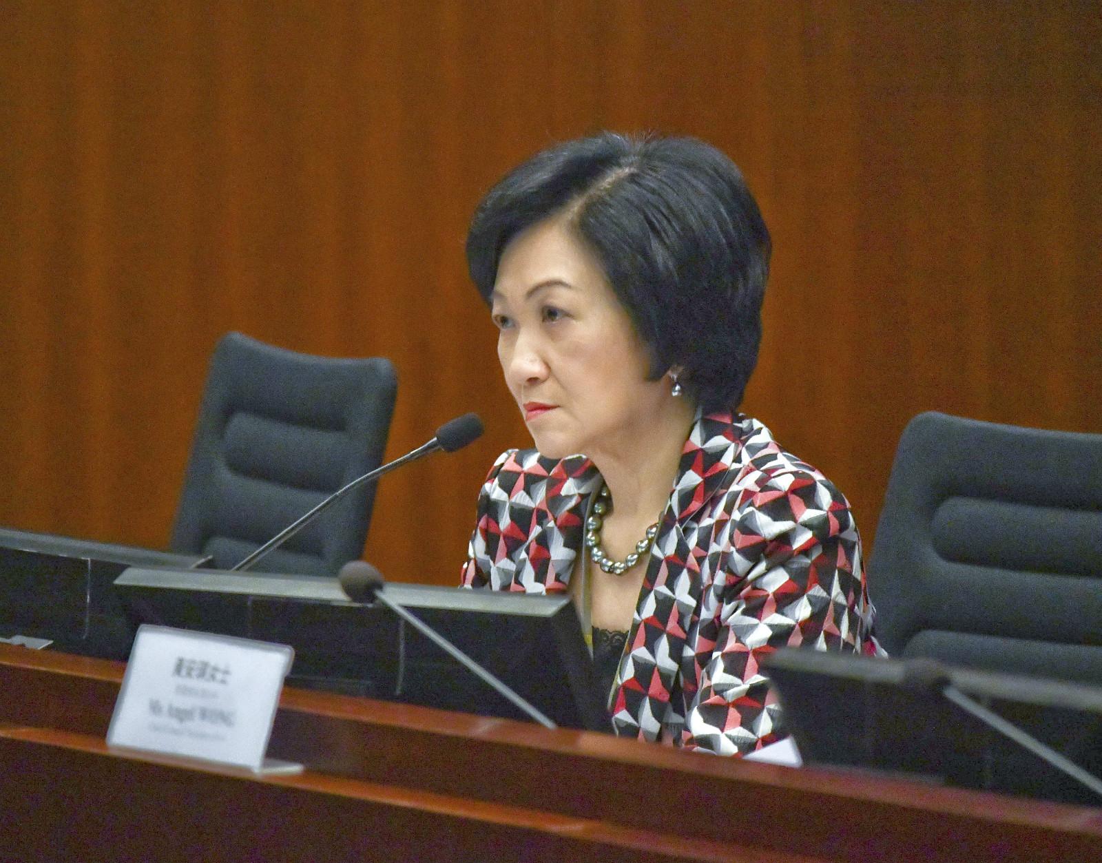 葉劉淑儀批台灣是借案件討政治便宜。資料圖片