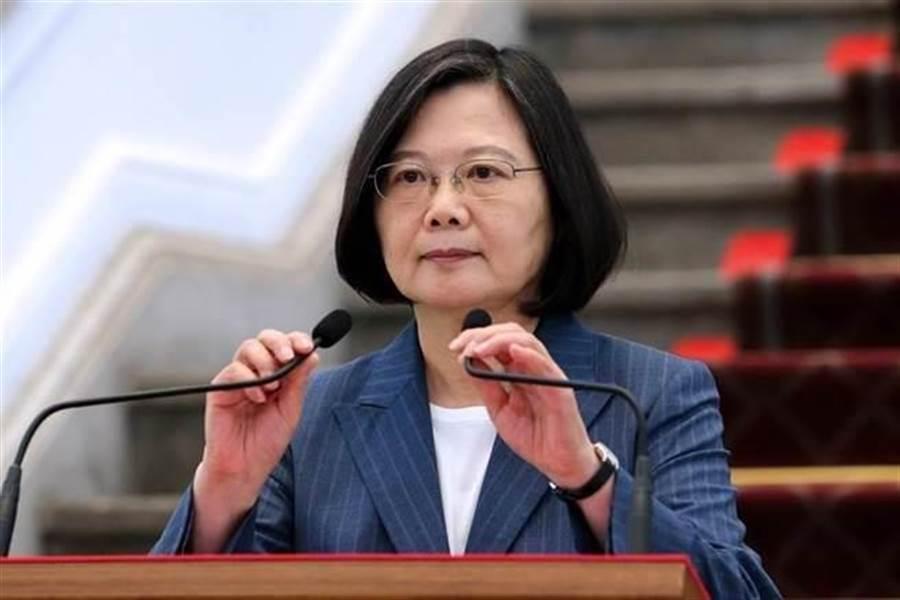台灣蔡英文總統促港府同意台警押解陳同佳。網上圖片