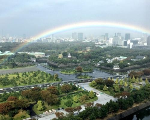 應驗草薙劍神話? 德仁即位儀式前「碰巧」雨停出彩虹