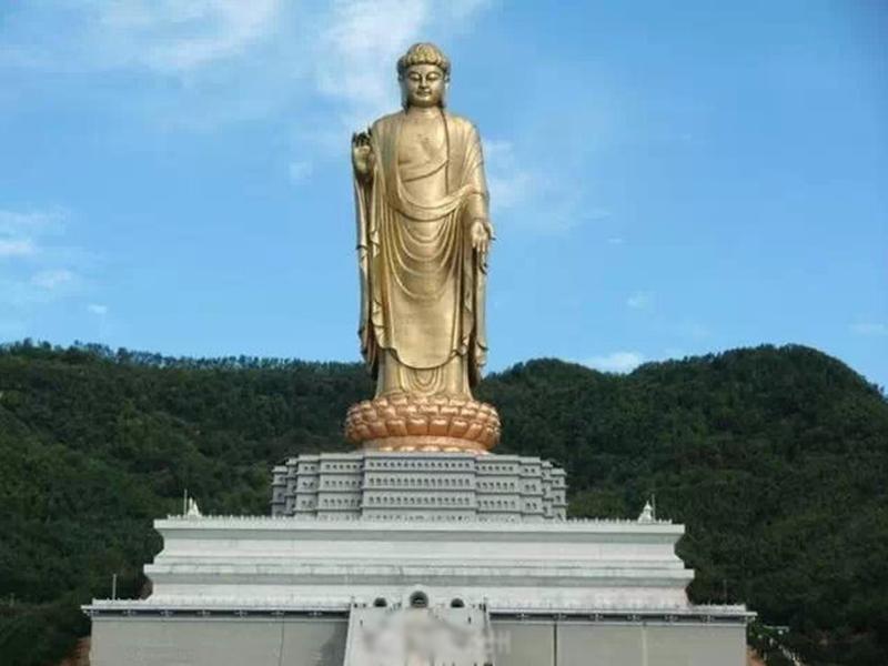 近日有消息證實,江蘇徐州市一殯儀館廢址上,將改造成寺廟宗教場所。示意圖