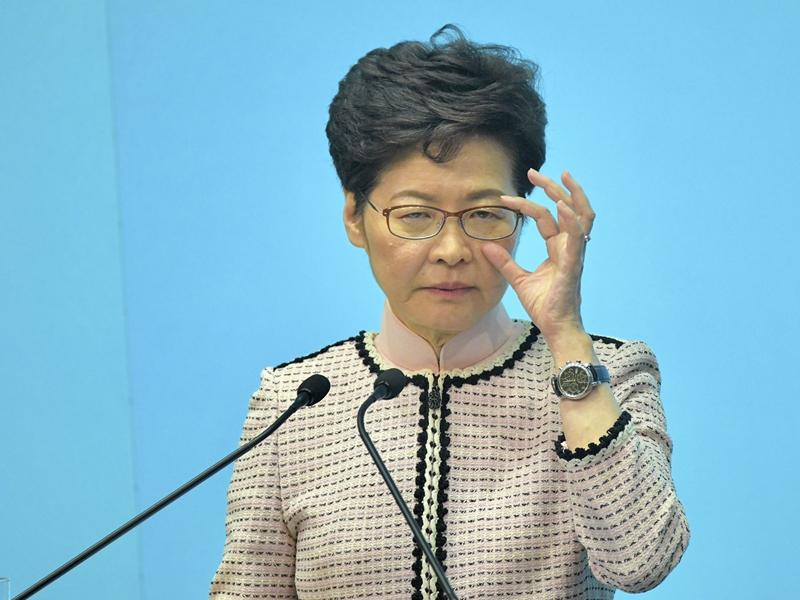 英國《金融時報》引述消息指,北京擬撤換行政長官林鄭月娥。資料圖片