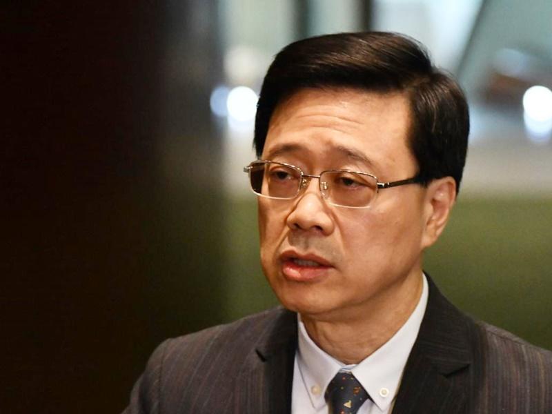 李家超指台灣派員押解陳同佳,是不尊重港司法管轄權。