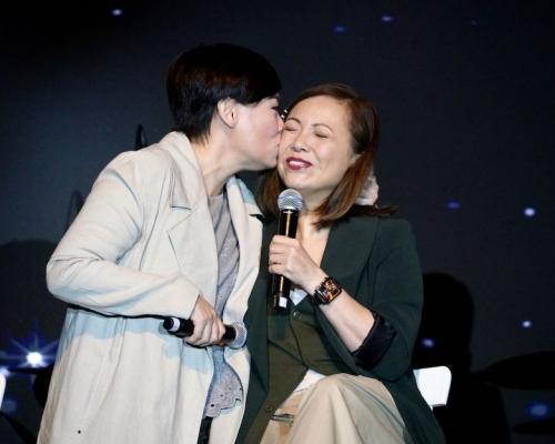 重提10年前不和傳言 鄧萃雯商天娥「吻」恩仇